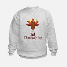 First Thanksgiving Turkey Sweatshirt