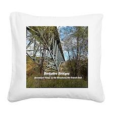 Berkshire Bridges Cover Square Canvas Pillow