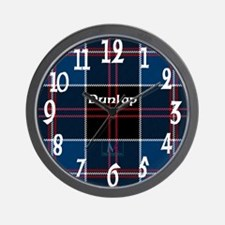 Dunlop Clan Wall Clock