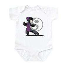 Kung Fu Anime Infant Bodysuit