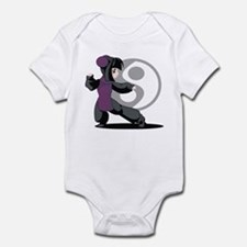 Kung Fu Anime Infant Bodysuit