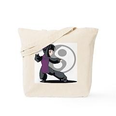 Kung Fu Anime Tote Bag