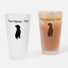 Custom Rottweiler Drinking Glass