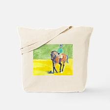 Tote Bag bay dressage horse