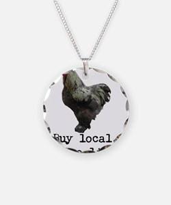 Buy Local. Change Lives. Chicken Necklace