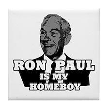 RonPaulHomeboy1 Tile Coaster