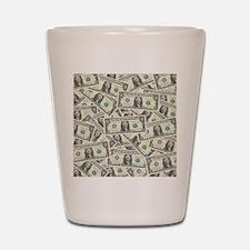 july11_many_dollars Shot Glass