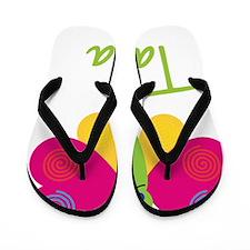 Tania-the-butterfly Flip Flops