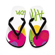 Allyson-the-butterfly Flip Flops