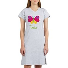 Tania-the-butterfly Women's Nightshirt