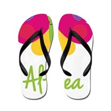 Althea-the-butterfly Flip Flops