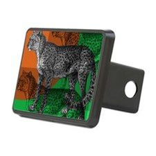 joes cheetah copy Hitch Cover