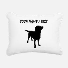 Custom Labrador Retriever Rectangular Canvas Pillo