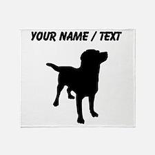 Custom Labrador Retriever Throw Blanket