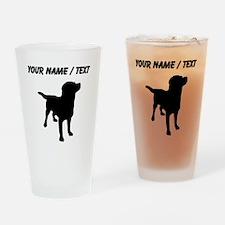 Custom Labrador Retriever Drinking Glass