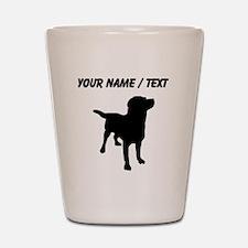 Custom Labrador Retriever Shot Glass