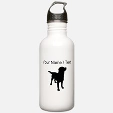 Custom Labrador Retriever Water Bottle