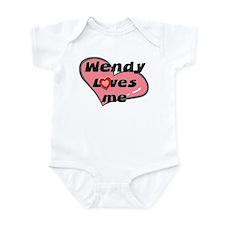 wendy loves me  Infant Bodysuit