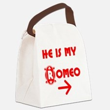 He is my Romeo Canvas Lunch Bag