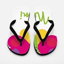 Noemi-the-butterfly Flip Flops