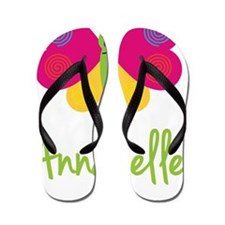 Annabelle-the-butterfly Flip Flops