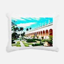 Ringling Art Garden - ca Rectangular Canvas Pillow