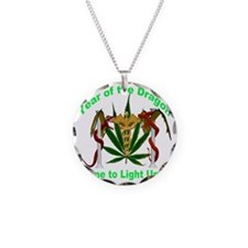 Year of the Dragon weed Necklace