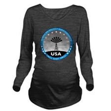 jan11_drillbabydrill Long Sleeve Maternity T-Shirt