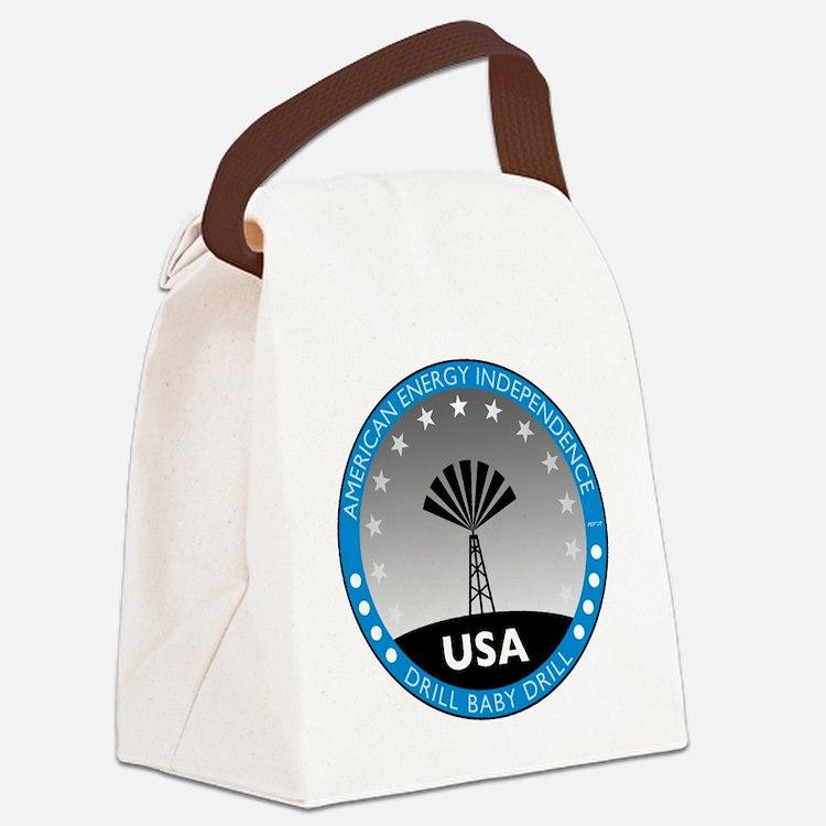 jan11_drillbabydrill Canvas Lunch Bag