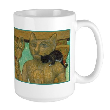 Cat Goddess Oversized Mug