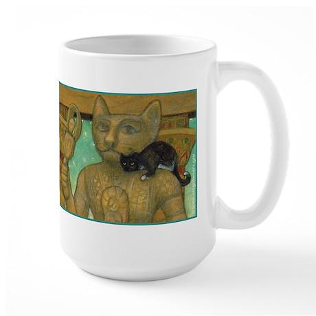 Cat Goddess Oversized Mug