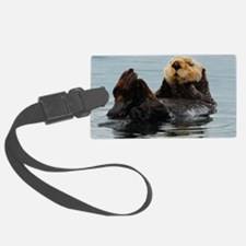 115x9_calender_otter_10 Luggage Tag