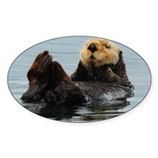 115x9_calender_otter_10 Decal