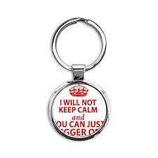 kcred Round Keychain
