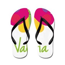 Valeria-the-butterfly Flip Flops