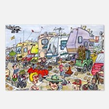 Heebie Jeebie200.10x14 Postcards (Package of 8)