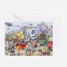 Heebie Jeebie200.10x14 Greeting Card