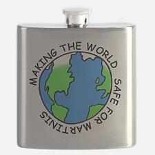 Safe Martinis Flask