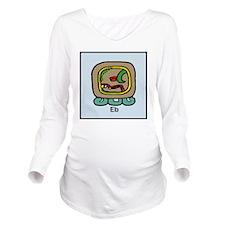 Eb Long Sleeve Maternity T-Shirt