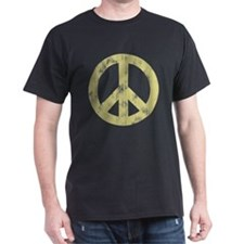 Distressed Peace Sign T-Shirt