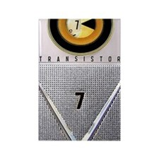 transistor_441_iphone_case Rectangle Magnet