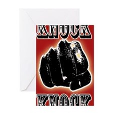 KNOCK-KNOCK.gif Greeting Card