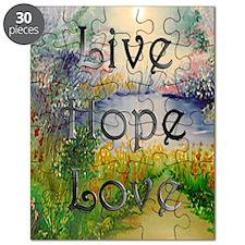 livehopelove-greetingcard Puzzle