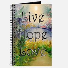 livehopelove-greetingcard Journal