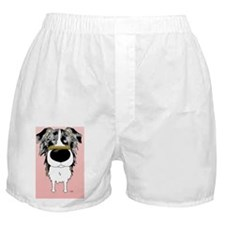 BlueMerleAussieCard Boxer Shorts