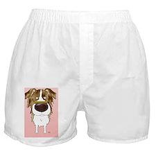 RedMerleAussieCard Boxer Shorts