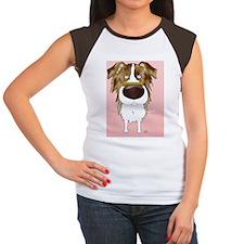 RedMerleAussieCard Women's Cap Sleeve T-Shirt