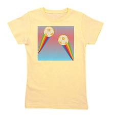 soccer rainbow Girl's Tee