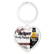 Hunters Helper 2012-1 Heart Keychain