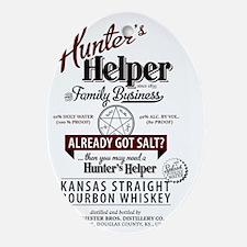 Hunters Helper 2012-2 Oval Ornament